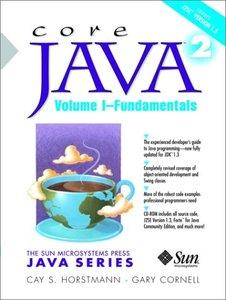 Core Java 2, Volume 1: Fundamentals, 5/e-cover