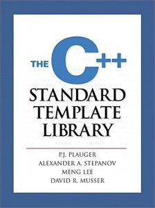 The C++ Standard Template Library (Paperback)-cover