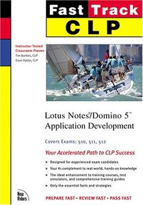 CLP Fast Track: Lotus Notes/Domino 5 Application Development (Paperback)-cover