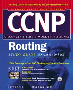 CCNP Routing Study Guide (Exam 640-503)-cover