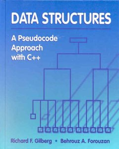 Data Structures A Pseudocode Approach with C++ (Hardcover)-cover