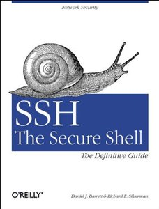SSH, the Secure Shell: The Definitive Guide-cover