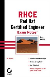 RHCE: Red Hat Certified Engineer Exam Notes-cover
