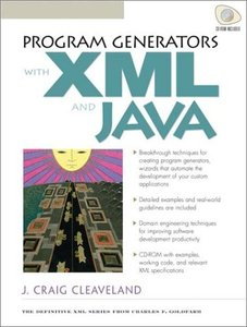 Program Generators with Java and XML-cover