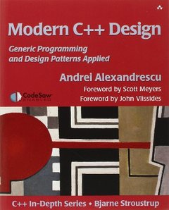 Modern C++ Design: Generic Programming and Design Patterns Applied (Paperback)-cover