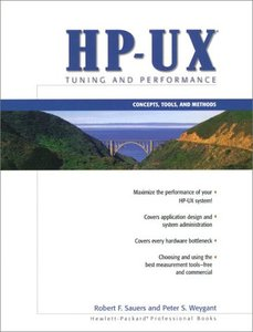 HP-UX Tuning and Performance: Concepts, Tools, and Methods (Paperback)-cover