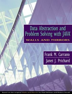 Data Abstraction and Problem Solving with Java-cover
