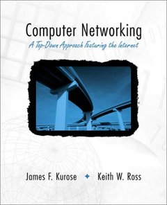 Computer Networking: A Top-Down Approach Featuring the Internet-cover