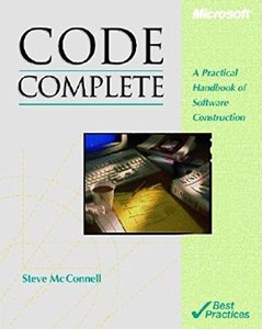 Code Complete: A Practical Handbook of Software Construction-cover