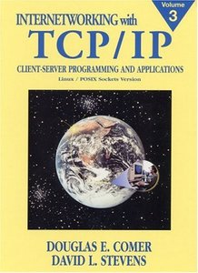 Internetworking with TCP/IP Vol. 3 CLIENT-SERVER PROGRAMMING AND APPLICATIONS (Linux) 精裝-cover