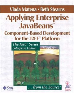 Applying Enterprise JavaBeans: Component-Based Development for the J2EE-cover
