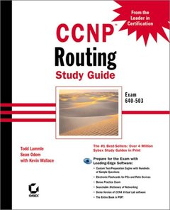CCNP: Routing Study Guide Exam 640-503 (Hardcover)-cover