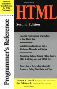 HTML Programmer's Reference, 2/e