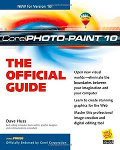 Corel PhotoPaint 10: The Official Guide (Paperback)-cover
