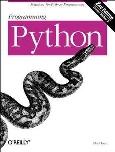 Programming Python, 2/e (Paperback)-cover