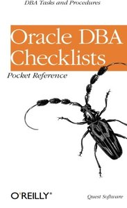 Oracle DBA Checklists Pocket Reference-cover