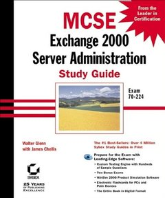 MCSE: Exchange Server 2000 Administration Study Guide-cover