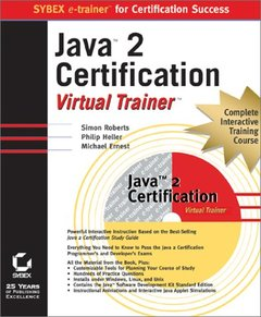 Java 2 Certification Virtual Trainer-cover