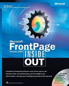 Microsoft Frontpage Version 2002 Inside Out-cover