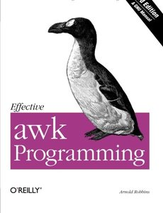 Effective awk Programming, 3/e-cover