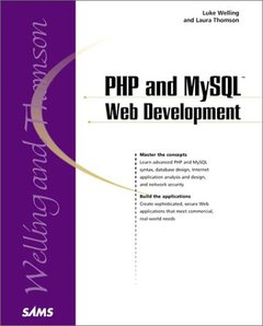 PHP and MySQL Web Development (Paperback)-cover