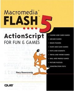Macromedia Flash 5 ActionScript for Fun and Games (Paperback)-cover
