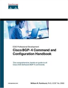 Cisco BGP-4 Command and Configuration Handbook-cover