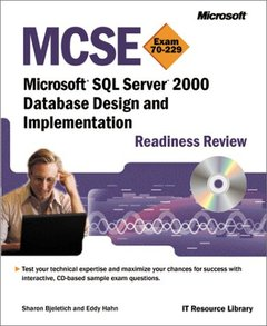MCSE Microsoft SQL Server 2000 Database Design and Implementation: Readiness Rev-cover
