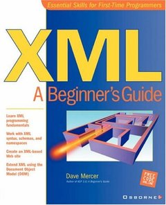 XML: A Beginner's Guide-cover