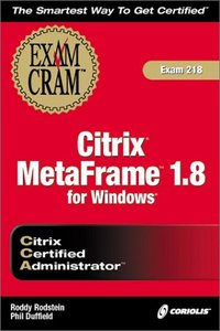 Citrix CCA MetaFrame 1.8 for Windows Exam Cram-cover