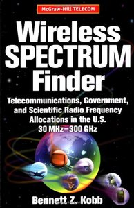 Wireless Spectrum Finder: Telecommunications, Government and Scientific Radio Fr-cover