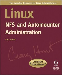 Linux NFS and Automounter Administration (Paperback)-cover
