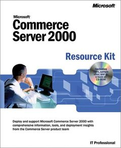 Microsoft Commerce Server 2000 Resource Kit-cover