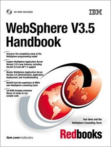 WebSphere V3.5 Handbook-cover