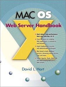 MAC OS X Web Server Handbook-cover