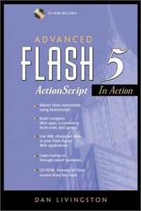 Advanced Flash 5 ActionScript in Action (Paperback)-cover