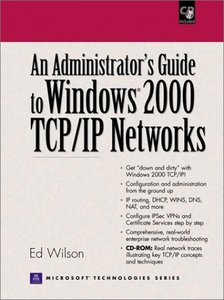 Administrators Guide to Windows 2000 TCP/IP Networks-cover