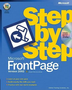 Microsoft FrontPage Version 2002 Step by Step-cover