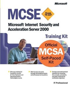MCSE Training Kit: Microsoft Internet Security and Acceleration Server 2000-cover