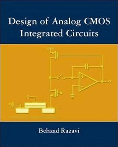 Design of Analog CMOS Integrated Circuits (Hardcover)-cover