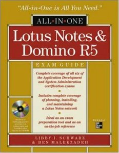 Lotus Notes and Domino R5 All-In-One Exam Guide (Hardcover)-cover