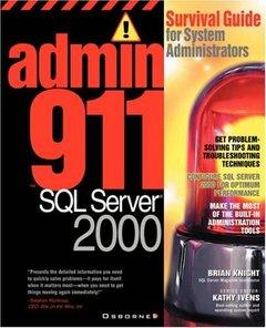 Admin911: SQL Server 2000-cover