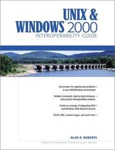 UNIX and Windows 2000 Interoperability Guide-cover