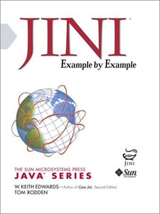 Jini Example By Example (Paperback)-cover