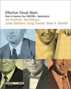 Effective Visual Basic: How to Improve Your VB/COM+ Applications-cover