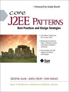 Core J2EE Patterns: Best Practices and Design Strategies-cover