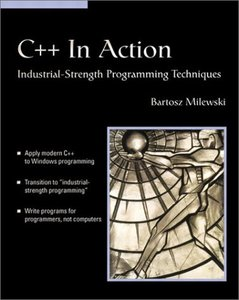 C++ in Action: Industrial-strength Programming Techniques (Paperback)-cover