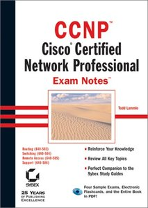 CCNP: Cisco Certified Network Professional Exam Notes-cover