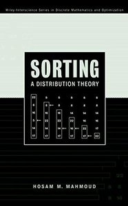 Sorting: A Distribution Theory-cover