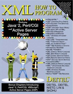 XML How to Program (IE-Paperback)-cover